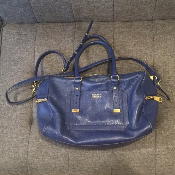92e0d20d398 Badgley Mischka Handbags - Badgley Mischka AVA satchel INK